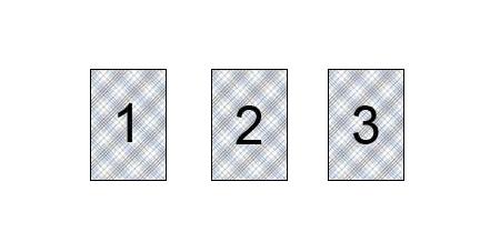 Tarot Legesystem - Das Dreierblatt